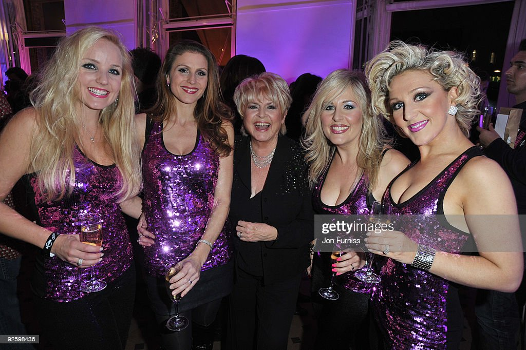Gloria Hunniford attends the PINKTOBER Women Of Rock Charity Concert at the Royal Albert Hall on November 1 2009 in London England