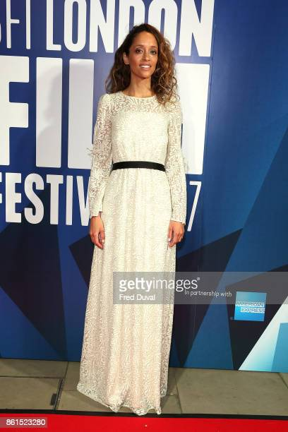 Gloria Huwiler attends the 61st BFI London Film Festival Awards on October 14 2017 in London England