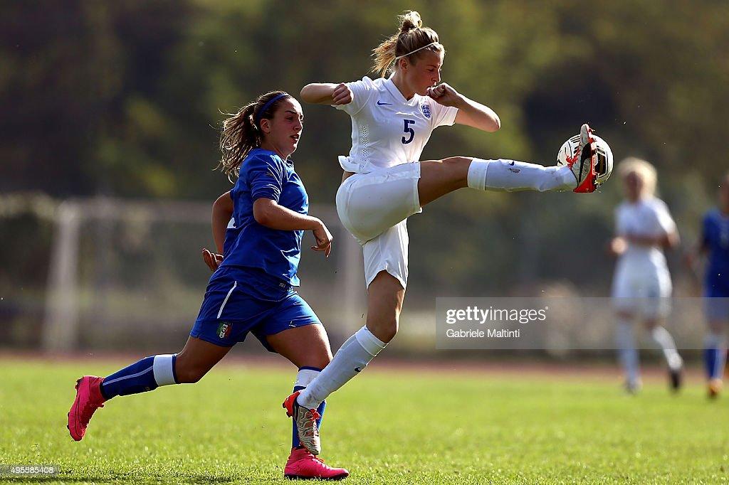 Italy U19 v England U19 - International Friendly