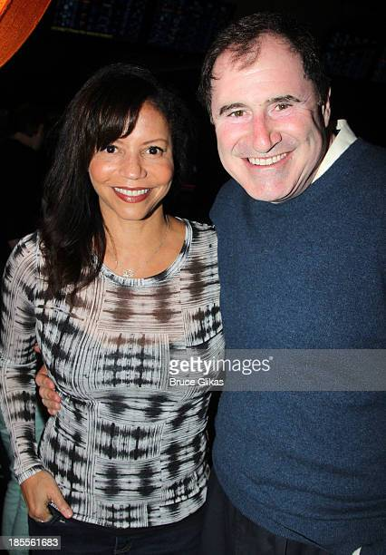 Gloria Reuben and Richard Kind attend the Paul Rudd 2nd Annual AllStar Bowling Benefit supporting Our Time at Lucky Strike on October 21 2013 in New...