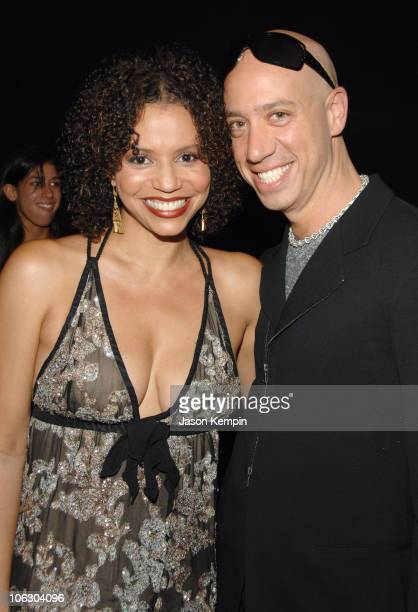 Gloria Reuben and Robert Verdi during The 6th Annual Cable Positive Pop Awards June 12 2007 at IFC Film Center in New York City New York United States