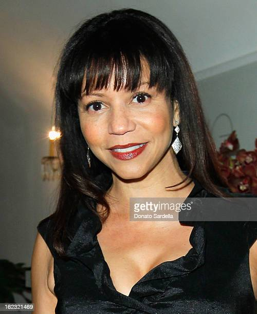 Gloria Reuben attends LoveGold Celebrates Fred Leighton at Chateau Marmont on February 21 2013 in Los Angeles California