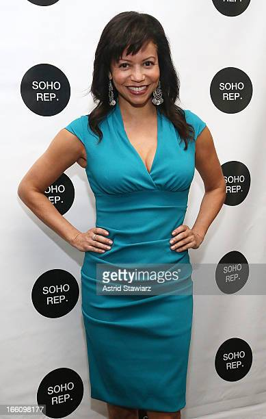Gloria Reuben attends Soho Rep's 2013 Spring Gala on April 8 2013 in New York City