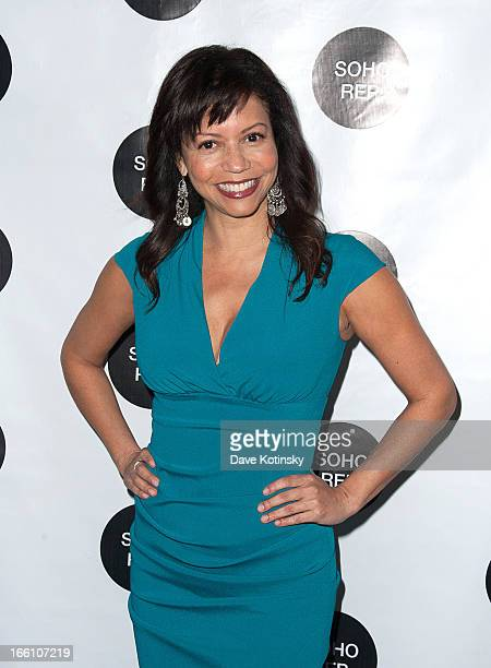 Gloria Reuben attends Soho Rep's 2013 Spring Gala on April 8 2013 in New York United States