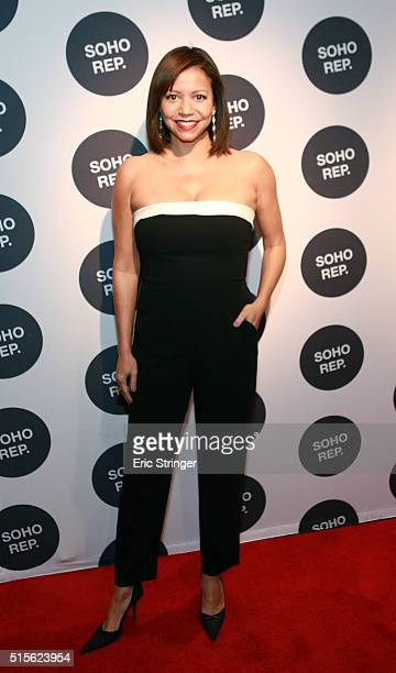 Gloria Reuben attends Soho Rep's Spring Gala at The Lighthouse at Chelsea Piers on March 14 2016 in New York City