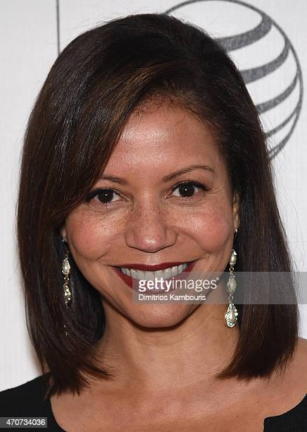 Gloria Reuben attends the 'Anesthesia' premiere during the 2015 Tribeca Film Festival at BMCC Tribeca PAC on April 22 2015 in New York City