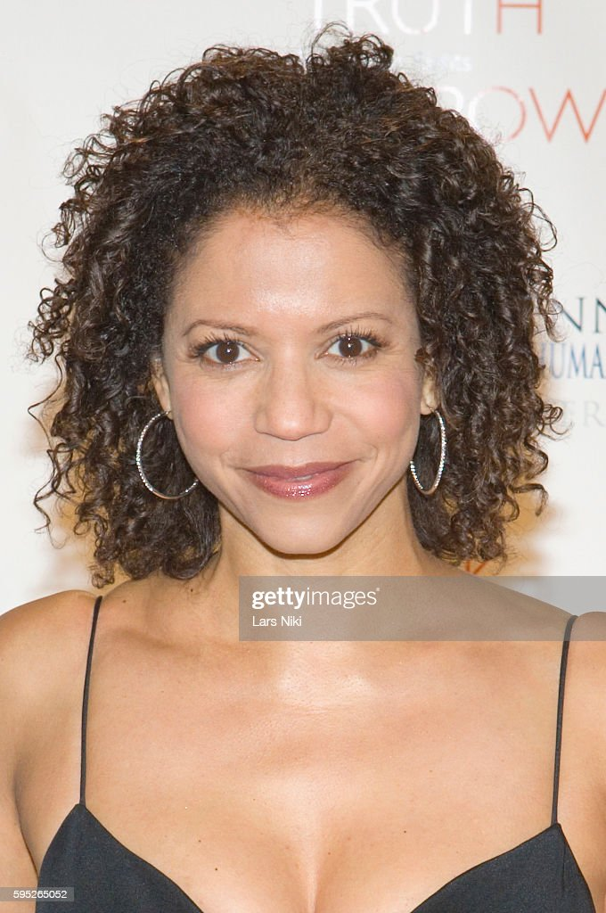 Gloria Reuben attends the 'Robert F Kennedy Center For Justice Human Rights Bridge Dedication Gala' at Pier 60 in New York City