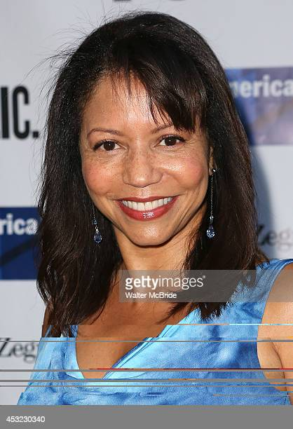 Gloria Reuben attends the The Public Theatre's Opening Night Performance of 'King Lear' at the Delacorte Theatre on August 5 2014 in New York City