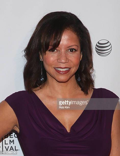 Gloria Reuben attends Tribeca Talks After The Movie Mr Robot during the 2015 Tribeca Film Festival at Chelsea Bow Tie Cinemas on April 26 2015 in New...