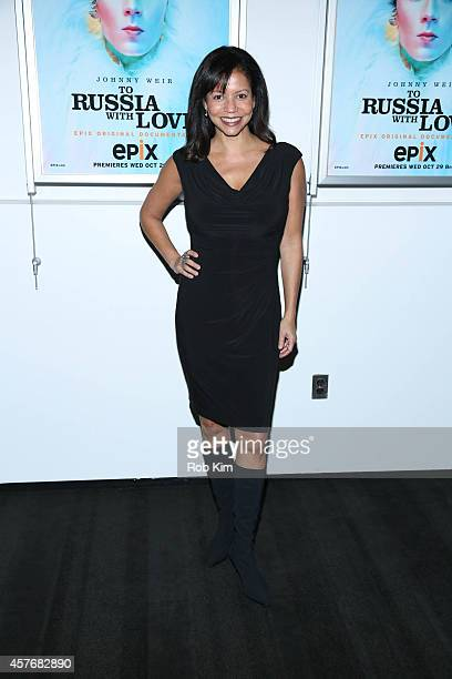 Gloria Reuben attends 'Two Russia With Love' New York Premiere at The Paramount Screening Room on October 22 2014 in New York City
