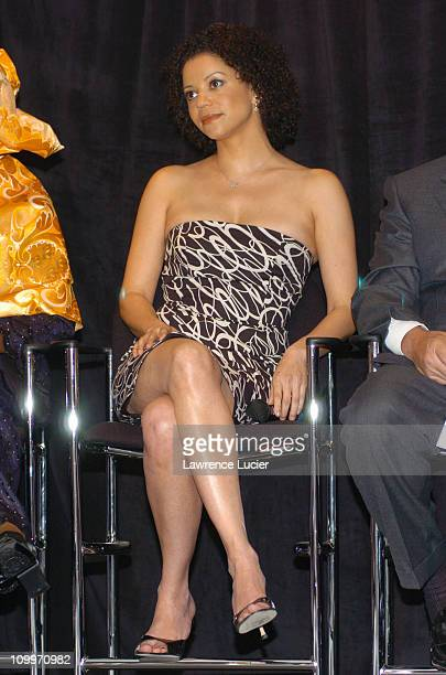 Gloria Reuben during 2004 Reebok Human Rights Award at Charles Dana Lounge at Avery Fisher Hall Lincoln Center in New York City New York United States