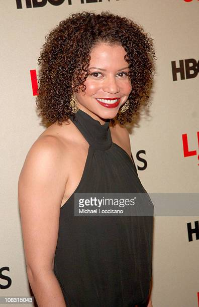 Gloria Reuben during 'Life Support' New York City Premiere Arrivals at Chelsea West Theatres in New York City New York United States