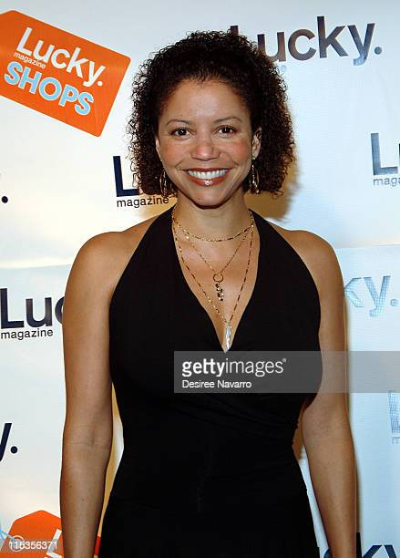 Gloria Reuben during Lucky Magazine Hosts 'Lucky Shops' Fundraiser Benefiting The Robin Hood Foundation at Gotham Hall in New York City New York...