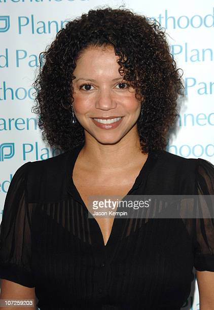 Gloria Reuben during OneYear Anniversary Celebration for Planned Parenthood President Cecile Richards June 7 2007 at ADC Gallery in New York City New...
