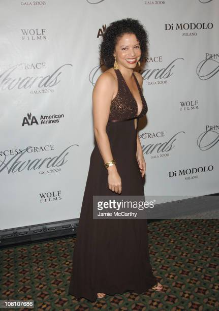Gloria Reuben during The 2006 Princess Grace Awards Gala at Cipriani 42nd Street in New York City New York United States