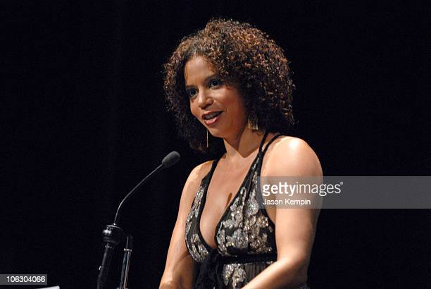 Gloria Reuben during The 6th Annual Cable Positive Pop Awards June 12 2007 at IFC Film Center in New York City New York United States