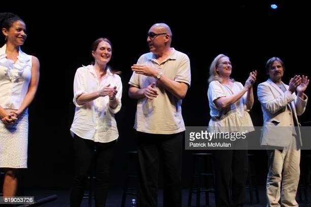 Gloria Reuben Juliane Moore Alfred Molina Meryl Streep and Viggo Mortensen attend THE PUBLIC THEATRE Presents a OneNightOnly Benefit Reading of SPEAK...