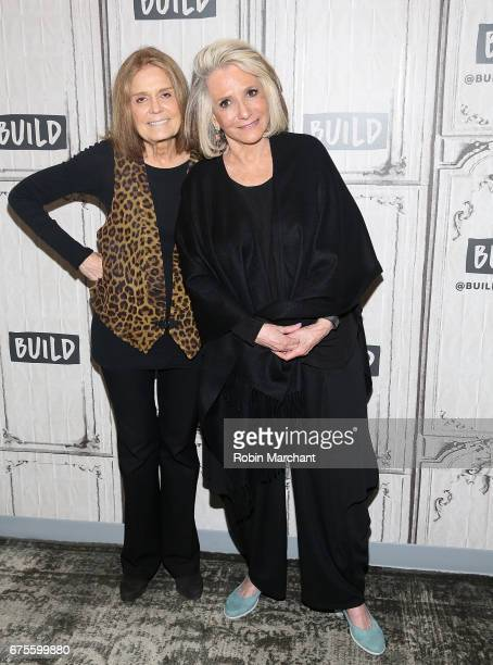 Gloria Steinem and Sheila Nevins attend Build Presents the new book 'You Don't Look Your Age' at Build Studio on May 1 2017 in New York City