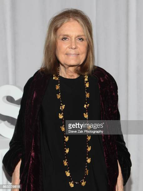 Gloria Steinem attends 2017 Yes Gala at Brooklyn Museum on October 19 2017 in New York City