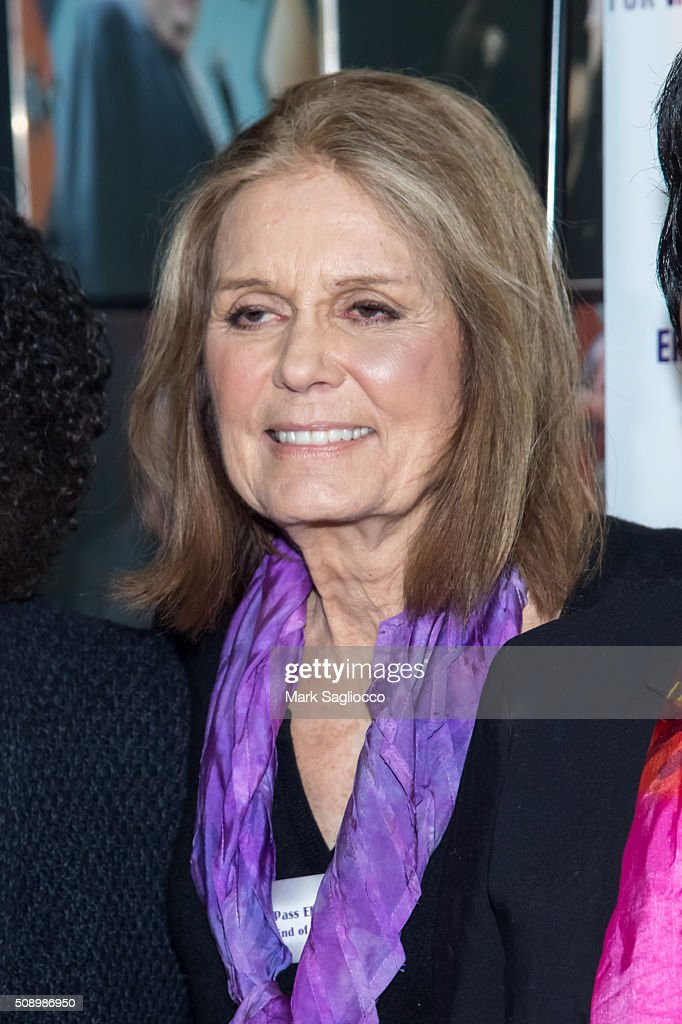 <a gi-track='captionPersonalityLinkClicked' href=/galleries/search?phrase=Gloria+Steinem&family=editorial&specificpeople=213078 ng-click='$event.stopPropagation()'>Gloria Steinem</a> attends 'A Night of Comedy with Jane Fonda' on February 7, 2016 in New York City.