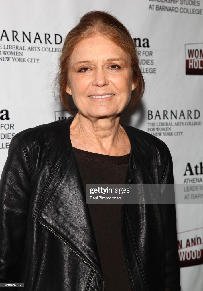 Gloria Steinem attends the 2012 Athena Film Festival A Celebration Of Women And Leadership Opening Night Reception at Barnard College on February 9...