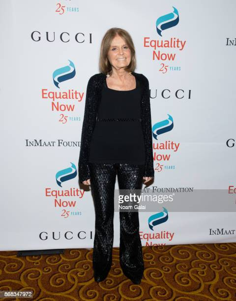 Gloria Steinem attends the 2017 Equality Now Gala at Gotham Hall on October 30 2017 in New York City