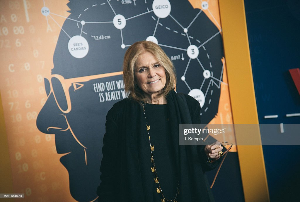 Gloria Steinem attends the 'Becoming Warren Buffett' World Premiere at The Museum of Modern Art on January 19, 2017 in New York City.