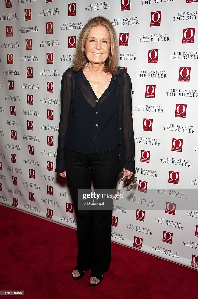 <a gi-track='captionPersonalityLinkClicked' href=/galleries/search?phrase=Gloria+Steinem&family=editorial&specificpeople=213078 ng-click='$event.stopPropagation()'>Gloria Steinem</a> attends 'The Butler' screening at Hearst Tower on July 31, 2013 in New York City.