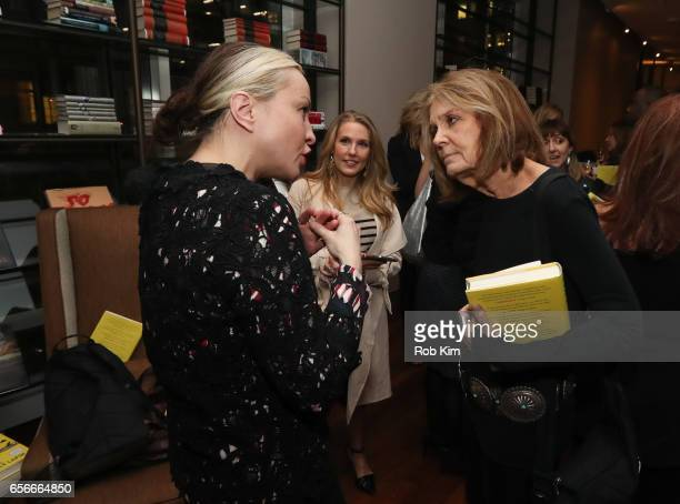 Gloria Steinem attends the Female Bosses celebration and BOSS BITCH book launch and interactive panel event at The Core Club on March 22 2017 in New...