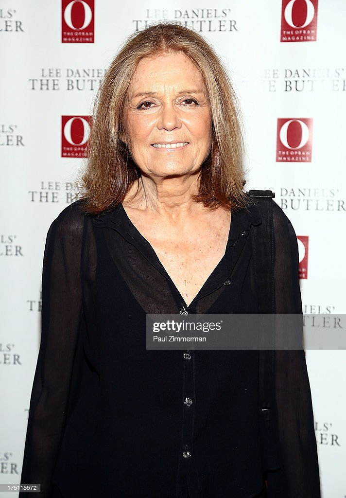 <a gi-track='captionPersonalityLinkClicked' href=/galleries/search?phrase=Gloria+Steinem&family=editorial&specificpeople=213078 ng-click='$event.stopPropagation()'>Gloria Steinem</a> attends the Lee Daniels' 'The Butler' Special Screening at Hearst Tower on July 31, 2013 in New York City.