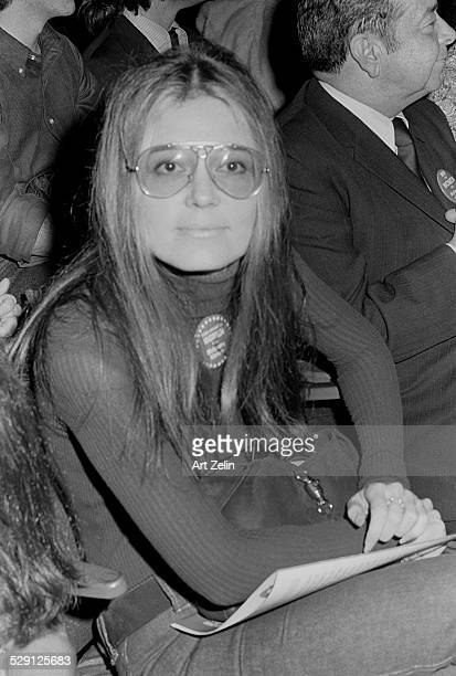 Gloria Steinem circa 1970 New York