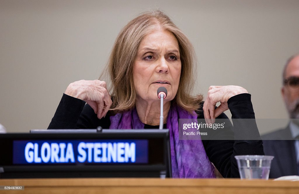 Gloria Steinem participated on a special event entitled Voices of Victims of Human Trafficking: Readings from River of Flesh and Other Stories. The event was organized by the United Nations Office on Drugs and Crime (UNODC) in partnership with the non-governmental organization Apne Aap Women Worldwide today at the UN Headquarters in New York.