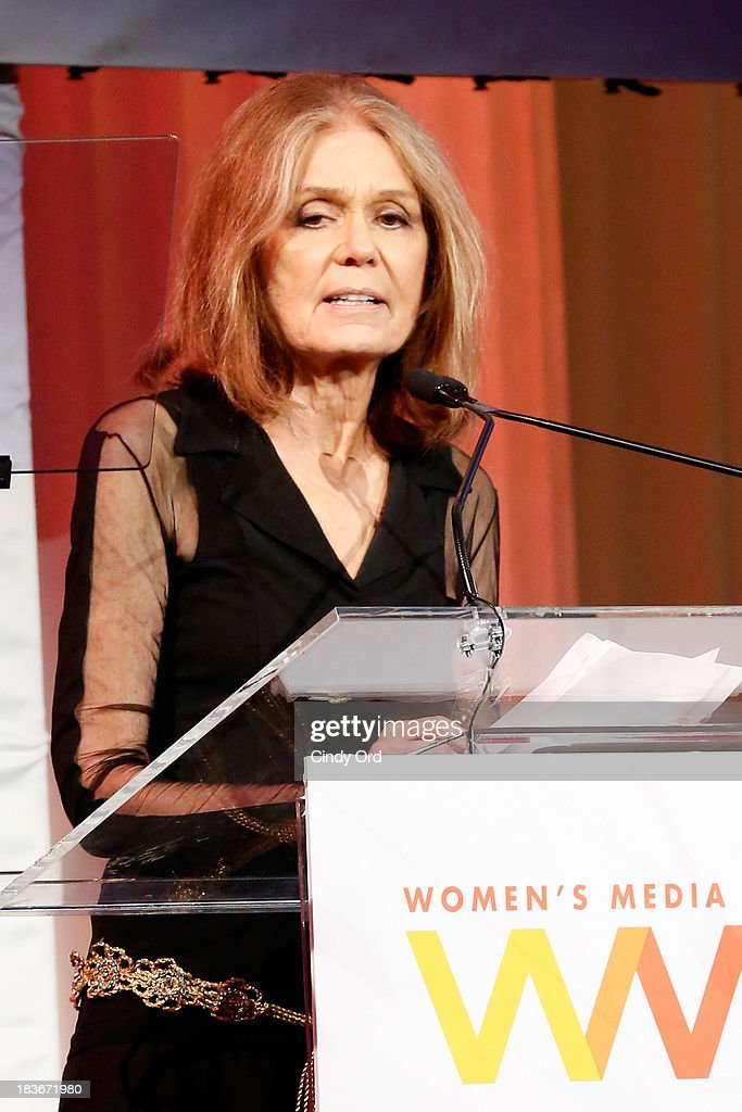 <a gi-track='captionPersonalityLinkClicked' href=/galleries/search?phrase=Gloria+Steinem&family=editorial&specificpeople=213078 ng-click='$event.stopPropagation()'>Gloria Steinem</a> speaks onstage at the 2013 Women's Media Awards on October 8, 2013 in New York City.