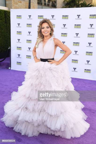 Gloria Trevi attends 2017 Latin American Music Awards at Dolby Theatre on October 26 2017 in Hollywood California