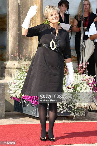 Gloria von Thurn und Taxis attends Bayreuth Festival Opening 2013 on July 25 2013 in Bayreuth Germany