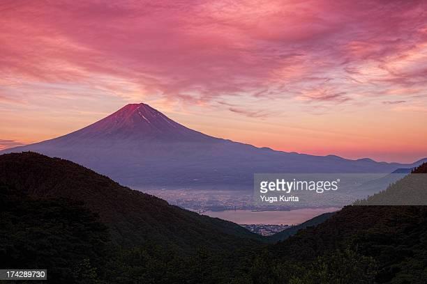 Glorious Morning Fuji