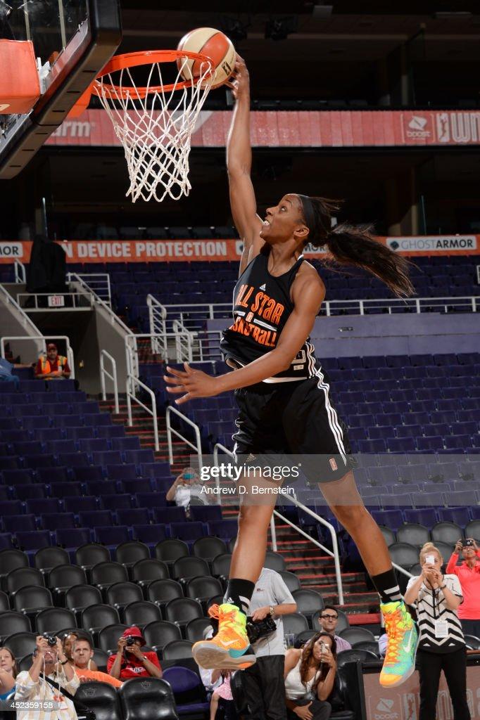 2014 WNBA All-Star Practice and Media Availability
