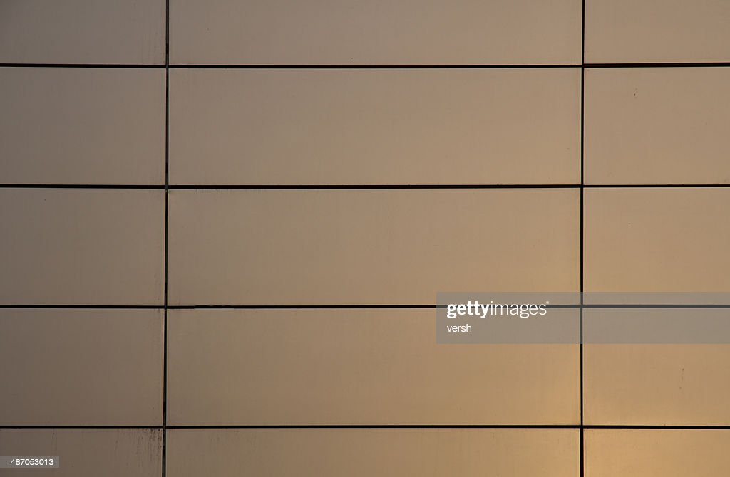 glosy metal panel wall texture stock photo