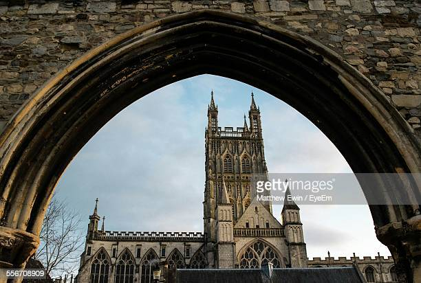 Gloucester Cathedral Seen Through Infirmary Arches