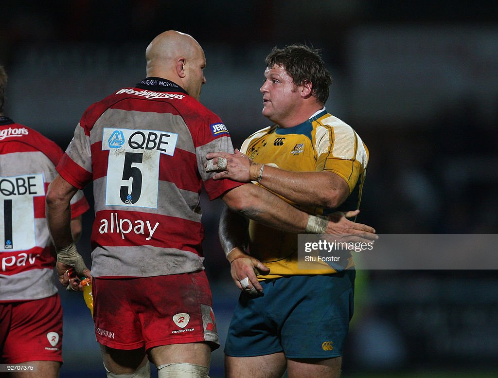 Gloucester v Australia - Friendly Match