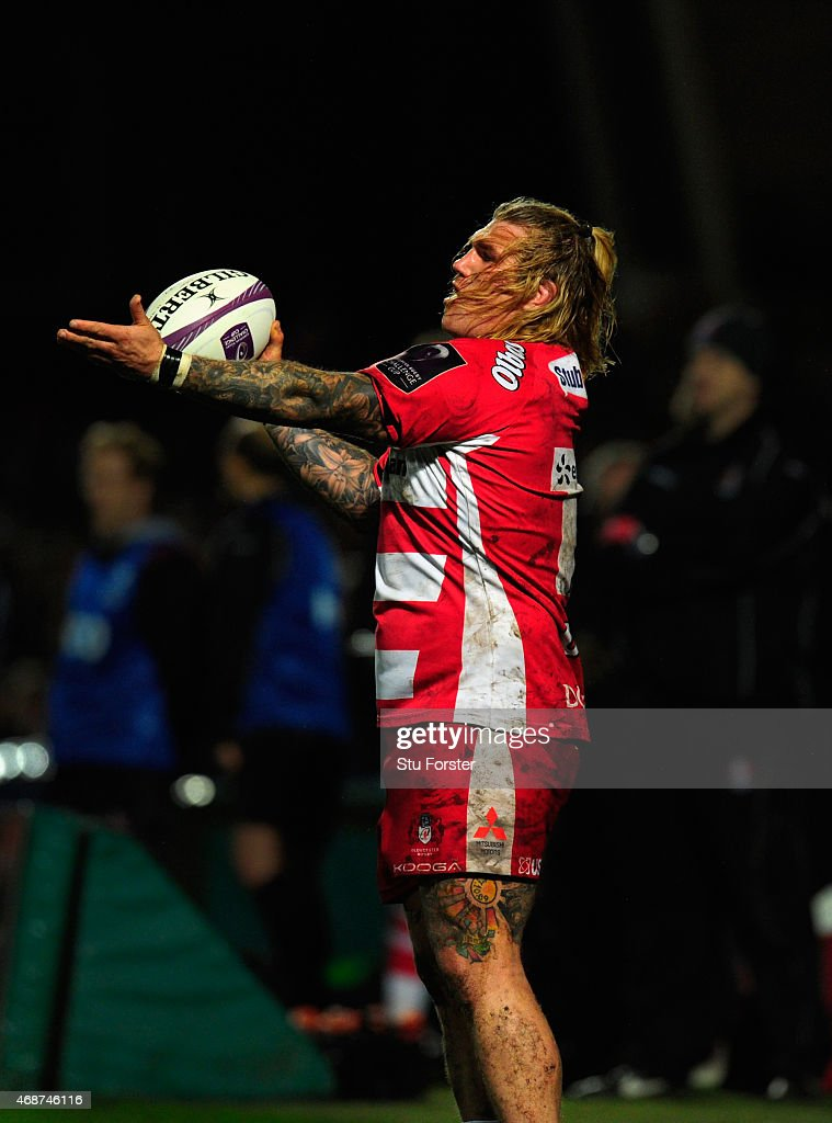 Gloucester player Richard Hibbard in action during the European Rugby Challenge Cup Quarter Final match between Gloucester Rugby and Connacht Rugby...