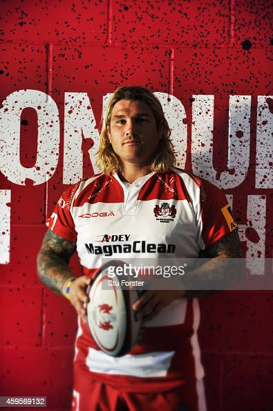 Gloucester Rugby and Wales hooker Richard Hibbard pictured at Kingsholm Stadium on August 13 in Gloucester England