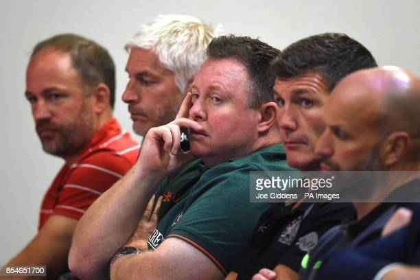 Gloucester Rugby director of rugby David Humphreys Bath Rugby director of rugby Todd Blackadder Leicester Tigers director of rugby Matt O'Connor...