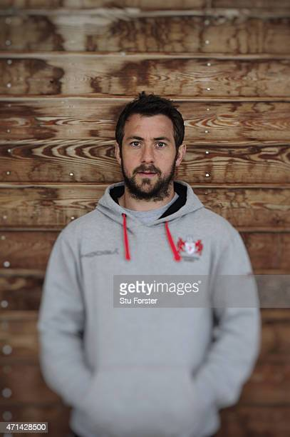 Gloucester scrum half Greig Laidlaw pictured after Gloucester Rugby open training ahead of their European Challenge Cup final against Edinburgh on...