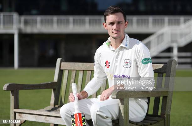 Gloucestershire captain Gareth Roderick during the media day at The Brightside Ground Bristol