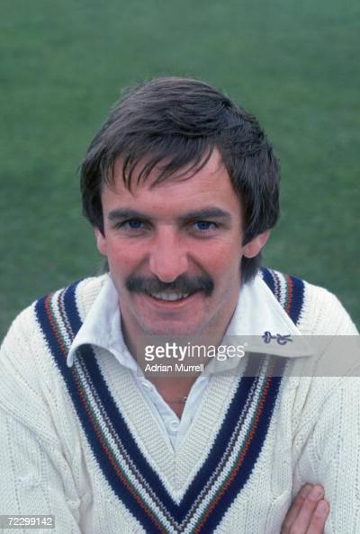 Gloucestershire county cricket captain David Graveney April 1983