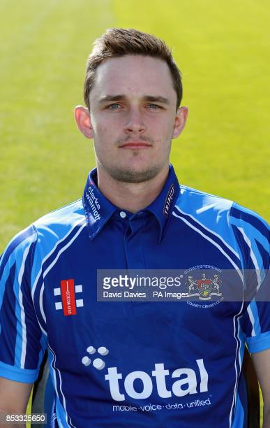 Gloucestershire's Gareth Roderick during the media day at The County Ground Bristol