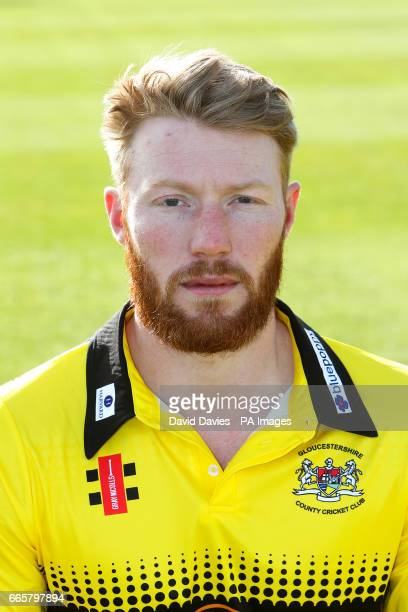 Gloucestershire's Liam Norwell during the media day at The Brightside Ground Bristol