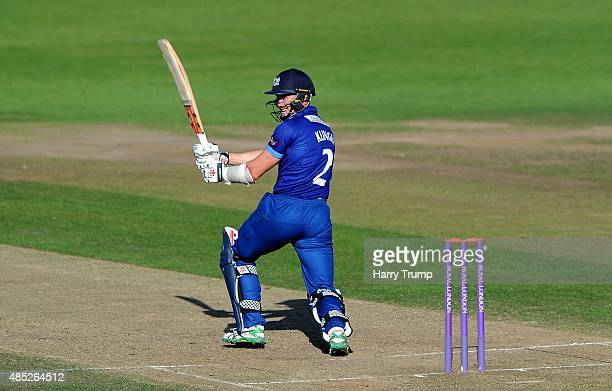 Gloucestershire's Michael Klinger pulls during the Royal London OneDay Cup Quarter Final between Gloucestershire and Hampshire at The County Ground...