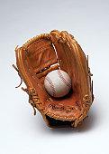Glove and Hard Ball